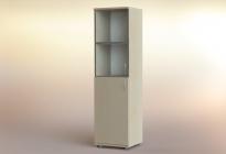 Стеллаж РСЛ-43.4 ст (стеклянная дверь)