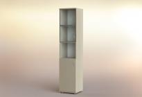Стеллаж РСЛ-44.4 ст  (стеклянная дверь)