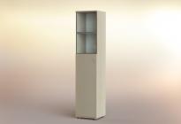 Стеллаж РСЛ-44.5 ст  (стеклянная дверь)