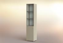 Стеллаж РСЛ-44.6 ст  (стеклянная дверь)