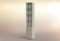 Стеллаж РСЛ-45.4 ст  (стеклянная дверь)