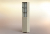 Стеллаж РСЛ-45.5 ст  (стеклянная дверь)