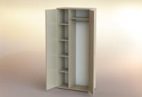 Шкаф платяной РШП-10